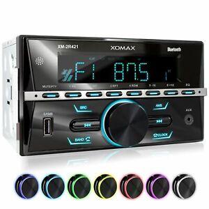Autoradio mit Bluetooth Freisprecheinrichtung Rds Mp3 Usb Aux-In Doppel 2din