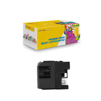 Compatible 1 x LC201 BK XL Ink Cartridge for Brother MFC-J460DW J480DW