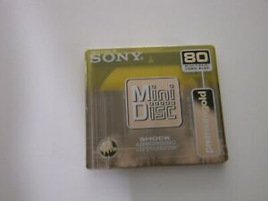SONY  MD 80 PREMIUM GOLD   ---   MINIDISC NEW