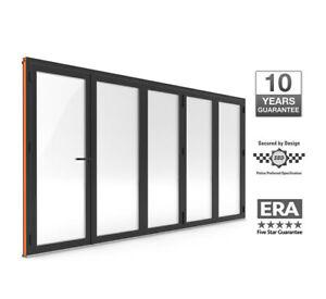 Warmcore Bi-Fold Doors 5 pane £3750
