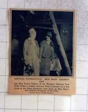 1927 Mary Garrett Hay And Lowen Kildare, Women's 13 Club Defying Superstition