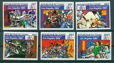Tschad 917 - 922  , ** , Olympische Spiele 1984