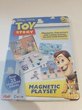 DISNEY PIXAR TOY STORY CHILDRENS MAGNETIC PLAYSET EXCELLENT CONDITION