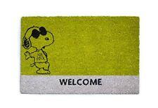 Excelsa Peanuts Zerbino Snoopy, Fibra di Cocco, Verde, 40 x 60 cm (w2e)