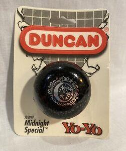 Duncan 3059NP Vintage Genuine Midnight Special Yo-Yo New Sealed in Package Black