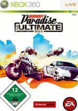Xbox 360 Burnout Paradise Ultimate box alemán como nuevo