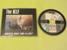 The KLF America What Time Is Love? Maxi CD Single Dance House Rave