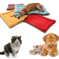 Klein Mittel Groß Haustier Tiermatte Katze Hund Warm Matte Bett Kissen Boden Mat
