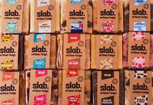 Vegan Fudge Slab Dairy Lactose Free Gift Chocolate Handmade Cookies Biscoff UK