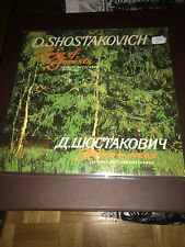 Shostakovich- Song Of Forests LP Svetlanov 2029
