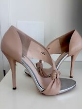 Brian Atwood Nude Sandals Sz 6
