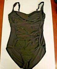 One Piece Black Swimsuit Large 12 14 1pc
