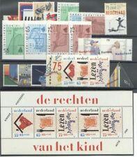 jaargang 1989 postfris (MNH) met kindblok