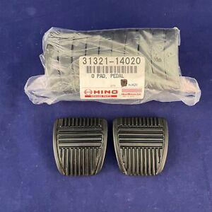 Set of 2: New Genuine OEM Toyota Brake Clutch Pedal Pads 31321-14020 USA SELLER