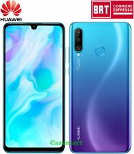 "Huawei P30 Lite 128GB Dual SIM 6GB RAM Smartphone Mobile Sbloccato 6.15"" Blu"