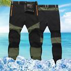 Hombre Exterior Senderismo Alpinismo Pantalón Militar Pantalones Talla Grande