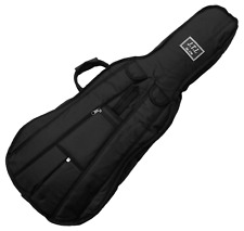 More details for 1/4 size cello padded gig bag with back pack straps by j.thibouville-lamy, black