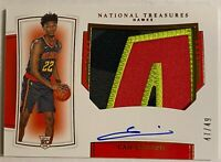 """2019-20 Panini National Treasures CAM REDDISH RPA Rookie *SICK """"A"""" Patch* /75"""