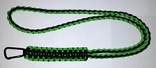 KING COBRA DIAMOND BRAID PARACORD SURVIVAL NECK LANYARD - YOU CHOOSE THE COLOR/S