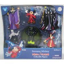 Disney Parks Mickey Mouse Sorcerer Villains Figure Cake Topper Playset New Box