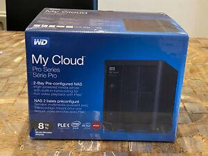 WD PR2100 8TB Western Digital My cloud 8TB NAS network drive plex