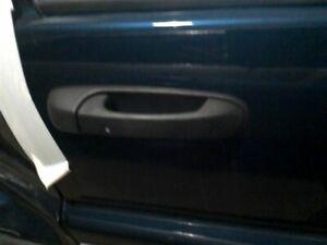 Door Handle Exterior Door Front Matte Black Fits 00-04 GRAND CHEROKEE 153669