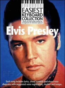 Easiest Keyboard Collection Elvis Presley Sheet Music Book SAME DAY DISPATCH