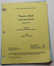 Dawson's Creek * 1997 Original TV Show Script * Season 1, Episode 8 * Boyfriend