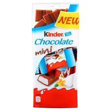 KINDER Chocolate Mini Bars 120g 4.2oz