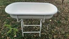 PORCELAIN Enamel baby bath tub,laudry basin, farmhouse sink,wash stand