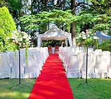 RED AISLE - EVENT RUNNER 50 FT X 38 IN ~  PUNCTURE RESISTANT! GRADUATION ~ PROM