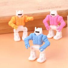 1pcs Randomly cartoon Transformers shape Erasers Rubbers Stationery For Kids