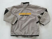 NFL Pittsburgh Steelers Boys Girls Polyester LS 1/4 Zip Coat Jacket Reebok Large