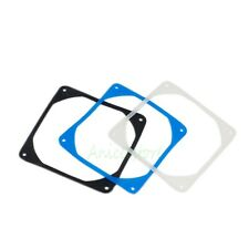 3-pieces 120mm PC Case Fan Anti vibration Gasket Silicone Shock Absorption Pad