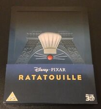 Disney RATATOUILLE 3D & Blu-Ray SteelBook Zavvi UK Exclusive 2-Disc New OOP Rare