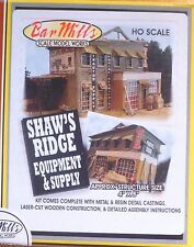 "Bar Mills #532 (HO Scale) Shaw's Ridge Equipment & Supply -- Kit - 4 x 8"" 10.2"