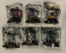 New 2010 McDonalds Transfomers Complete set of 6 New In Packages