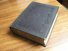 More details for 1846 holy bible eyre & spottiswoode new & old testement large embossed gold leaf