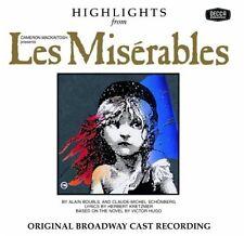 Original Broadway Ca - Les Miserables / O.B.C. [New CD] Highlig