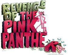 70s Revenge Of The Pink Panther 1978 classic movie cartoons vtg t-shirt iron-on
