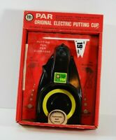 RARE EARLY MODEL 1901 VINTAGE 19TH HOLE PAR ORIGINAL PUTTING CUP IN BOX GOLF