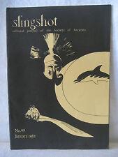 Slingshot #99 ancient wargames magazine January 1982 vintage gaming journal book