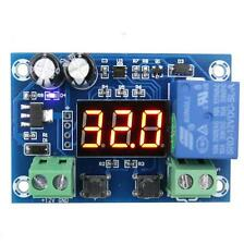 DC 12v display LED Humidity control delay module controller switch with sensor