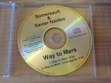 SOMERSAULT & XAVIER NAIDOO - WAY TO MARS / 2 TRACK PROMO-MAXI-CD 2001