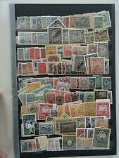 More details for russia - vintage mint & used collection crammed onto large d/s stocksheet