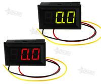 DC 0-99V 3 Wire LED Digital Display Panel Volt Meter Voltage Voltmeter Car Motor
