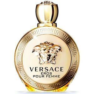 Eros pour femme by Versace 3.4 oz 100 ml EDP Spray NIB For Women