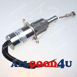 New Fuel Injection Control fuel Shutoff Solenoid 1821019C91 12V for Navistar