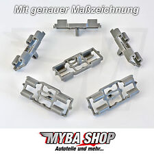 8x CLIP DE MOLDEO CLIPS de fijación para BMW X5 E53-51717006757 NUEVO