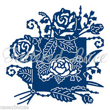 Tattered Lace Cutting Die - Rose Scroll - Flowers & Leaves - D1153 -  New Out